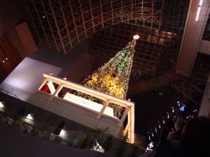 京都駅のツリー(1)