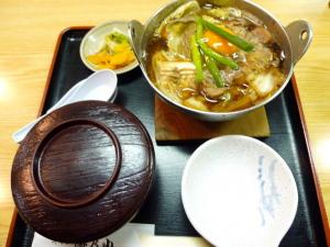 すき焼き鍋@やぐら 海乃山