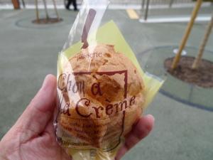オアフさんのシュークリーム