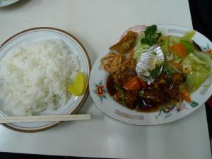 酢豚&八宝菜@なんば亭