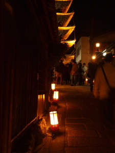 京都・東山花灯路2009