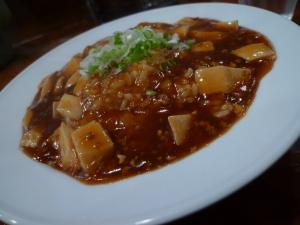 麻婆豆腐丼@中国家庭菜館「宝喜」