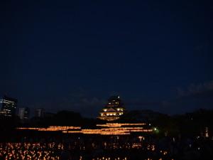 城灯りの景